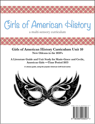Picture of American Girl - Girls of American History Unit 10 1853 New Orleans in the 1850's/Marie-Grace® and Cecile® - Teacher License