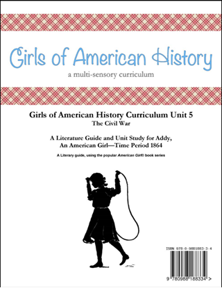 Picture of American Girl Curriculum - Girls of American History Unit 5 1864 Civil War-Addy® - Teacher License