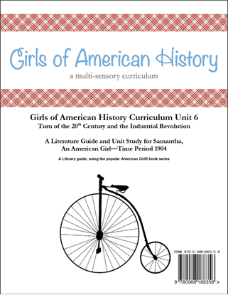 Picture of American Girl Curriculum - Girls of American History Unit 6 1904 Industrial Revolution-Samantha® - Teacher License