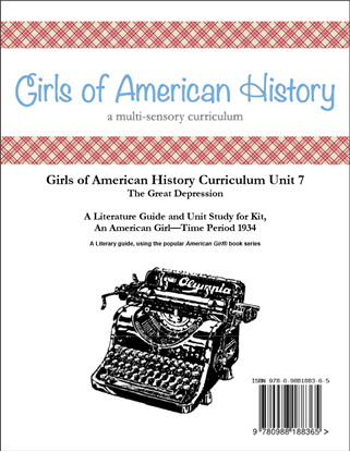 Picture of American Girl Curriculum - Girls of American History Unit 7 1934 The Great Depression-Kit® - Teacher License