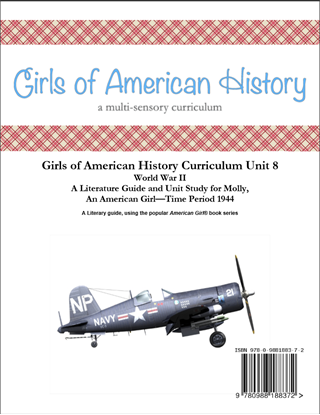 Picture of American Girl Curriculum - Girls of American History Unit 8 1944 World War II-Molly® - Teacher License