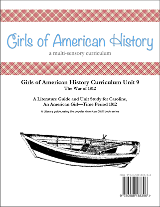 Picture of American Girl Curriculum - Girls of American History Unit 9 1812 War of 1812-Caroline® - Teacher License