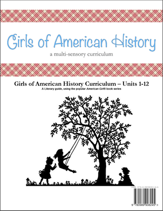 Picture of American Girl Curriculum - Girls of American History Units 1-12 - Two Year Set - Co-op/School License