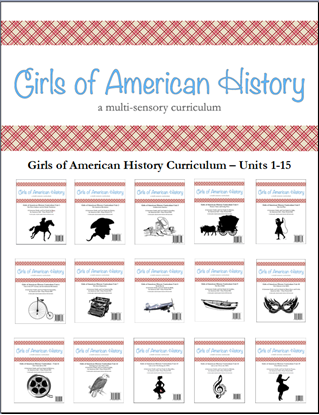 Picture of American Girl Curriculum - Girls of American History Units 1-15 Discounted Set - Co-op/School License